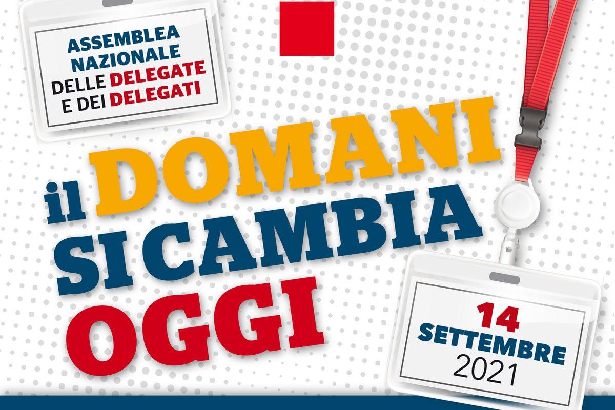 14 settembre assemblea nazionale delegati e delegate