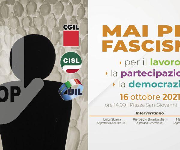 Mai più fascismi – Manifestazione a Roma